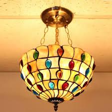 Pendant Bowl Chandelier Fashion Style Pendant Lighting Bowl Tiffany Lights