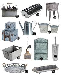 Galvanized Decor 25 Galvanized Home Decor And Storage Ideas Live Laugh Rowe