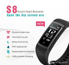 best health monitoring bracelet images Smart sport band s8 sleep monitor and pedometer android rfid smart jpg