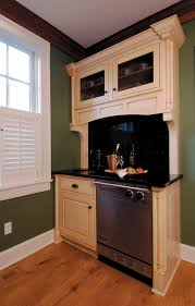 beige tan painted cabinets