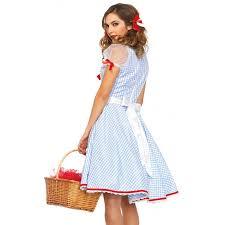 Size Dorothy Halloween Costume Kansas Sweetie Wizard Oz Costume Women Costumes