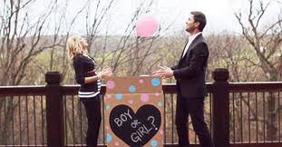 balloons in a box gender reveal gender reveal baby shower thestorknestblog