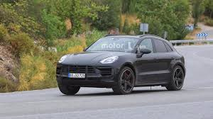 Porsche Macan Modified - 2018 porsche macan facelift photographed inside and out