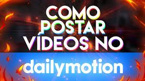Dailymotion Aneta Buena - como postar videos no dailymotion pelo celular atualizado 2017