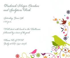 special birthday party invitation maker by giving art and painting
