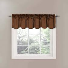 Blue Valance Curtains Bedroom Blue And Brown Valance Curtains Beautiful Valances