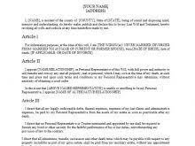 Template Wills by Brady Bunch Template Free Resume