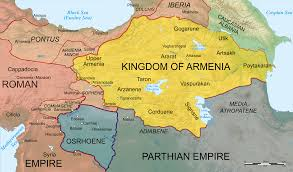 Map Of Greece And Surrounding Countries by Kingdom Of Armenia Antiquity Wikipedia