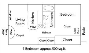 500 Sq Ft Floor Plans The 11 Best 500 Sq Ft Apartment Floor Plan House Plans 58080