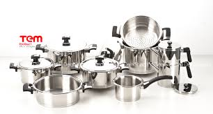 batterie cuisine inox batterie de cuisine inox cheap tefal batterie de cuisine induction