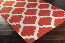 Outdoor Area Rugs Clearance by Red And White Area Rug Roselawnlutheran