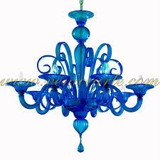 Teal Glass Chandelier San Marco Murano Glass Chandelier Design 60 Turquoise Murano