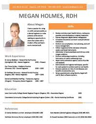 rdh resume template you can purchase and download this template