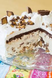 peanut butter cup no churn ice cream cake cupcakes u0026 kale chips