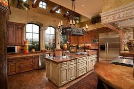 a rustic kitchen island designs in a rustic kitchen with pendant