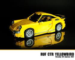 porsche ruf ctr 2017 lego ruf ctr yellowbird porsche 911 carrera 1987 flickr