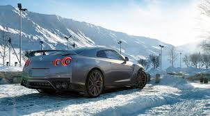 nissan gtr in snow nissan gt r 2017 full cg by factotum pictures transport 3d