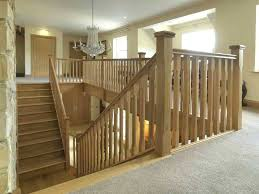 Home Handrails Outdoor Wood Stair Railing Designs Oak Stair Railings Interior