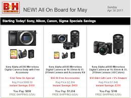 sony a6000 black friday deals sony a6300 bundle deals cheapest price mirrorless deal