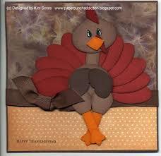 paper punch addiction thanksgiving turkey