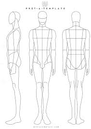 woman body figure fashion template d i y your own fashion