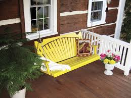 decor awesome natural porch swings lowes exterior home design