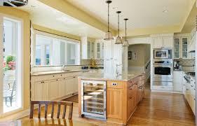 Traditional Kitchen Island Lighting Edgestar Wine Cooler Kitchen Traditional With Ceiling Lighting
