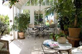 Conservatory Designs  Ideas Interiors  Décor Houseandgarden - Conservatory interior design ideas
