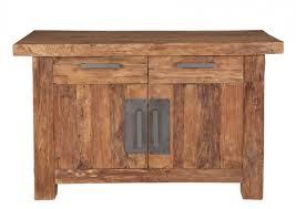 Wohnzimmerschrank Vintage Kommode Sideboard Anrichte Mehrzweckschrank Recyceltes Teakholz
