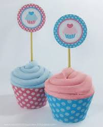 cupcake toppers make your own cupcake toppers and wrappers 4 steps with pictures