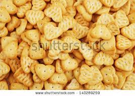 heart shaped crackers heart shaped crackers background stock photo 140289262