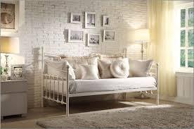bedroom fascinating vintage bedroom with metal daybed in front
