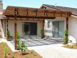 patio ideas pergola style cover glf home pros overhang and for