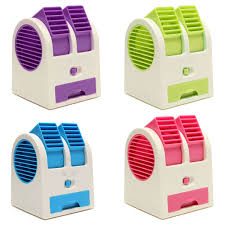 Portable Desk Air Conditioner Mini Summer Small Usb Switch Battery Cold Fan Cooling Portable