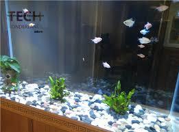 ghiaia per acquari natura neve ghiaia per acquario pietra colorata per fish tank