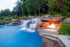 Waterfall Ideas For Backyard Pool With Waterfalls Ideas For Your Outdoor Space Http Www