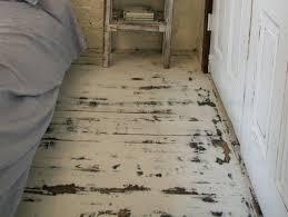 Painted Wood Floor Ideas Brilliant Distressed Wood Flooring Wb Designs Pertaining To