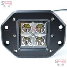 solar post cap lights 4pcs cree 16w led work light for truck