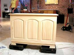 how to distress wood how to distress furniture hgtv