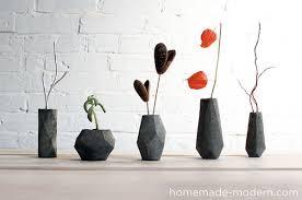 Modern Flower Vase Arrangements Diy Flower Vases That Are Chic U0026 Fancy
