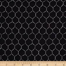 timeless treasures french country chicken wire black discount