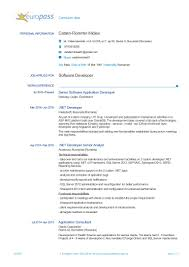 Sample Resume Net Developer by Embedded Software Engineer Resume Pdf Virtren Com