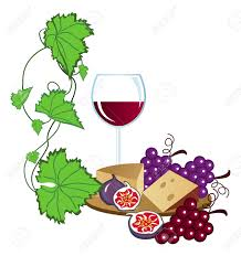 cartoon wine and cheese wine and cheese clip art 5369