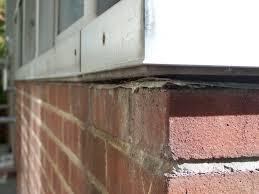 failures masonry facade water intrusion