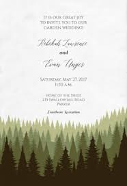 forest wedding invitations magical forest free wedding invitation template greetings island