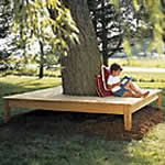 square wraparound tree bench free plans drawings u0026 instructions