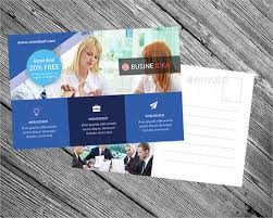 20 business postcard templates u2013 free sample example format