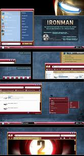 themes for pc ironman windows blind vista theme