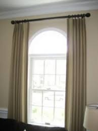Curtains For Arch Window 16 Graber Arched Curtain Rods Continental Drapery Rods