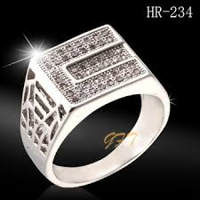 rings for men in pakistan wholesale men white gold ring price in pakistan hr234 buy white